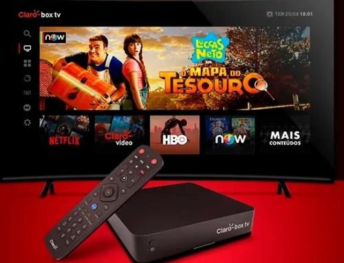 Claro Box TV: iniciativa une TV ao vivo e streaming em decodificador